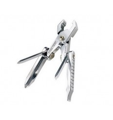 Swiss Tech - Multitool Micro-Plus 8 in 1 Silver - ST50015