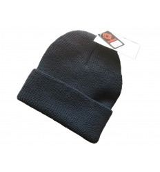 Fostex - Czapka zimowa - Watch Cap Wool - 100% Wełna - NAVY Ciemny granat