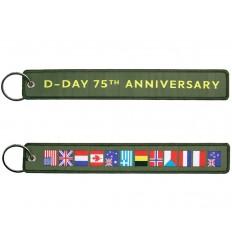 FOSTEX - Brelok / Zawieszka do kluczy - D-DAY 75TH ANNIVERSARY