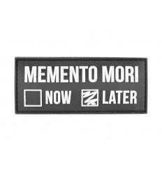 101 Inc. - Naszywka MEMENTO MORI LATER - 3D PVC