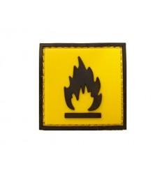 101 Inc. - Naszywka Flammable - 3D PVC