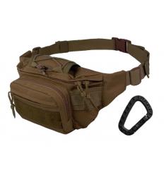 CAMO - Nerka / Torba na pas - Kangoo Waist Pack 3L - Coyote - TO-KG-WP-CY