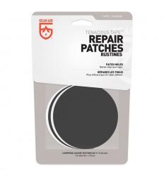 McNETT - Łatki naprawcze - Tenacious Tape Patches - 2x Czarne / 2x Przezroczyste - Okrągłe - 10710