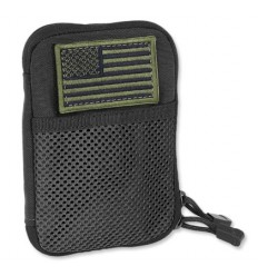Condor - Organizer Pocket Pouch + US Flag Patch - Czarny - MA16-002