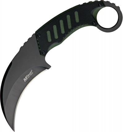 MTech - Nóż Tactical Karambit Neck Knife G-10 - MT-665BG