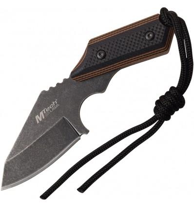 MTech - Nóż Tanto Fixed Blade Full Tang G10 handle - MT-2089BRD