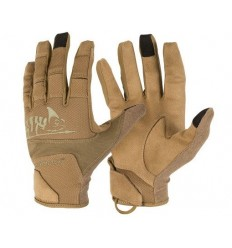 Helikon - Rękawice taktyczne Range Tactical Gloves Hard - Coyote Brown / Adaptive Green - RK-RNG-PO-1112A