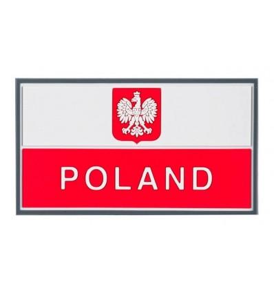 Helikon - Naszywka PVC - Flaga Polska z godłem - Kolor - OD-P29-RB-20