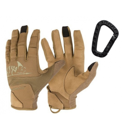 Helikon - Rękawice taktyczne Range Tactical Gloves Hard - Coyote Brown / Adaptive Green - RK-RNG-PO-1112A
