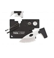 Tool Logic - Karta wielofunkcyjna Credit Card Companion 9 in 1 - CC1SB