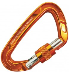 ESEE - Karabińczyk RAT Locking Carabiner AF-818 Locking - Orange - CARABINER-AF-818