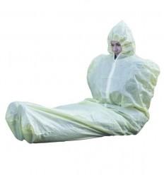 BCB - Śpiwór termiczny z suwakiem i kapturem - Thermal Protective Aid  (TPA) - MF206D