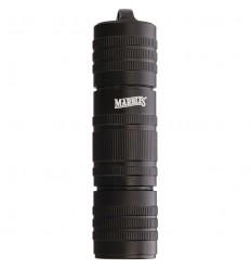 "Marbles - Kapsuła wodoodporna na zapałki - Matchsafe 4.75"" - Waterproof Black Aluminum Matches - MR320"