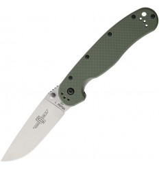 Ontario - Nóż składany RAT 1 Folding Knife - Stal D2 - OD Green Handle - 8867OD