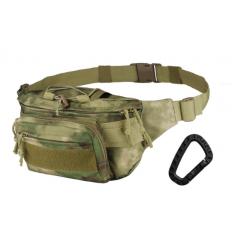 CAMO - Nerka / Torba na pas - Kangoo Waist Pack - 3L - A-TACS FG