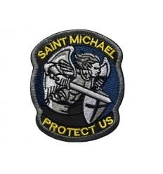 Mtac - Naszywka SAINT MICHAEL PROTECT US - Kolor