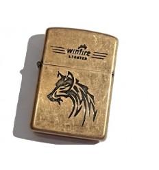 Winfire - Zapalniczka benzynowa / klasyczna - WOLF - Copper