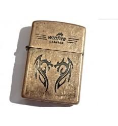 Winfire - Zapalniczka benzynowa / klasyczna - DRAGON - Copper