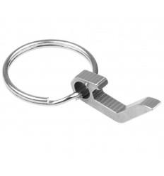 Mtac - Otwieracz do butelek / Mini brelok do kluczy - Stalowy - MTTOOL02
