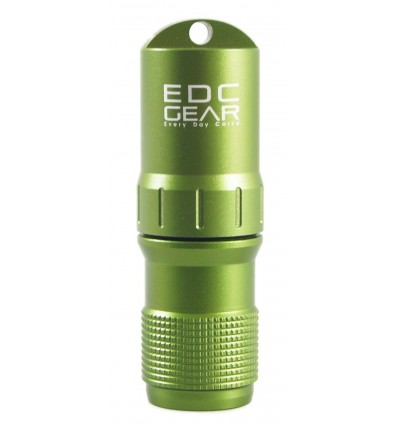 EDC GEAR - Pojemnik na zapałki / akcesoria EDC CAPSULE - Metalic Green