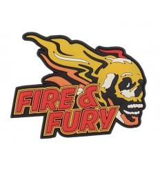 101 Inc. - Naszywka Fire & Fury - 3D PVC