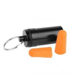 Earmor - Aluminiowy pojemnik z zatyczkami do uszu MaxDefense - S15