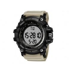 SANDA - Zegarek Digital Watch - Pasek Khaki - 359