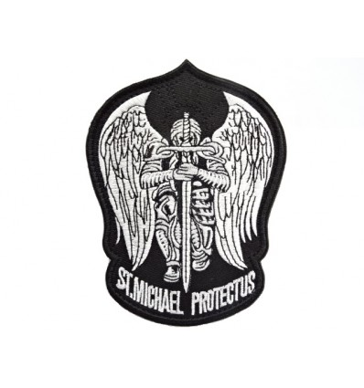 Mtac - Naszywka ST. MICHAEL PROTECT US - Black