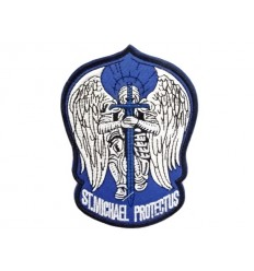 Mtac - Naszywka ST. MICHAEL PROTECT US - Blue
