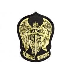 Mtac - Naszywka ST. MICHAEL PROTECT US - Gold
