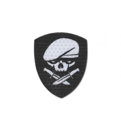 KAMPFHUND - Naszywka Medal Of Honor Skull - Czarny -Gen I