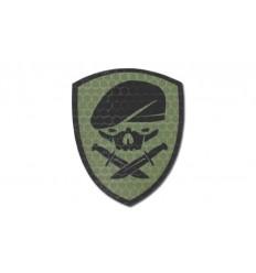 KAMPFHUND - Naszywka Medal Of Honor Skull - Zielony OD Gen I