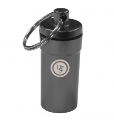 Ulimate Survival UST - Kapsuła /Pojemnik/ Brelok - B.A.S.E.  Case 0.5 Titanium