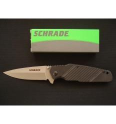 Schrade - Spear Point Folding Knife - SCH108 - Nóż składany