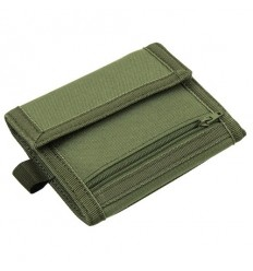 CONDOR - Portfel VAULT Tri-Fold - Zielony OD