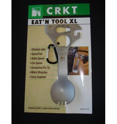 Multitool niezbędnik CRKT Eat'N Tool XL- 9110KC black