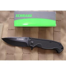 SCHRADE - Drop Point Folding Knife - SCH001 - Nóż skłądany