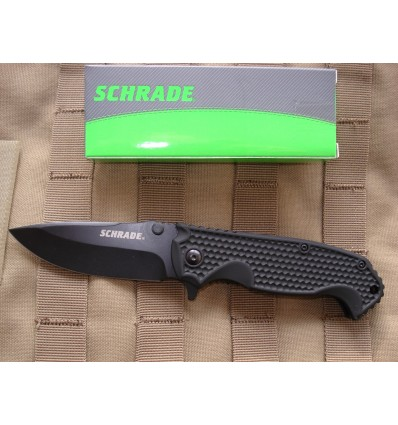 SCHRADE - Drop Point Folding Knife - SCH001 - Nóż skłądany