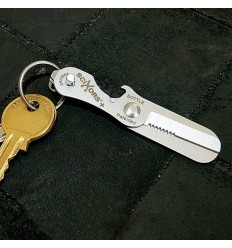 True Utility - Multitool SciXors+ - Key Ring Accessory - TU238