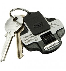 True Utility -  Multitool HandSpan - Key Ring Accessory - TU203
