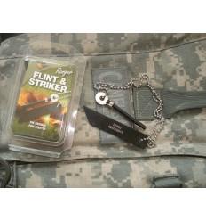 BCB - Krzesiwo wojskowe - Ranger Fire Flint - Łańcuszek - CN330