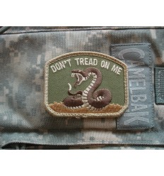 MIL-SPEC MONKEY - Naszywka Don't Tread on Me - MultiCam
