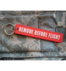 JTG - Brelok 3D - Remove Before Flight - Świecący