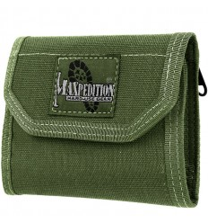 MAXPEDITION - Portfel 0253G C.M.C. Wallet - Zielony OD