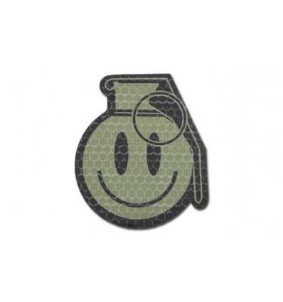 KAMPFHUND Naszywka Happy Frag Grenade - OD - Gen I