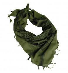Mil-Tec - Arafatka Chusta Shemagh - Zielono - Czarna - 12610000