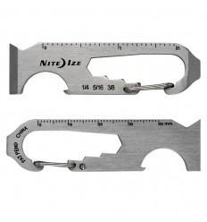Nite Ize - DoohicKey 6x Key Tool - Stalowy - KMTP-11-R3