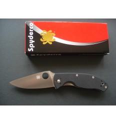 Spyderco - Tenacious C122GP G-10 Plain - Nóż składany