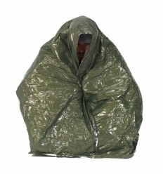 BCB - Koc ratunkowy - Blanket Olive Drab/Silver Foil - CL039