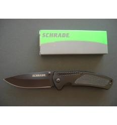 Schrade - Drop Poin Folding Knife - SCH207 - Nóż składany
